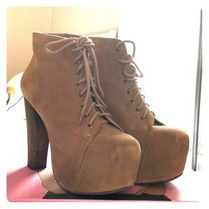 Nude Jeffrey Campbell Boots